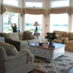 Family room on water with a view