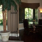 Iron Gates Accent Doorway