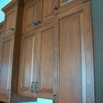Staggered Cabinetry adds dimension
