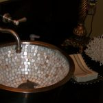 mother of pearl inlaid sink