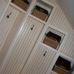 mudroom with a basket liner twist